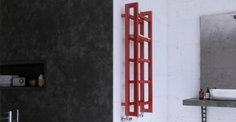 Stand käterätikuivati, millel on kaasaegne Skandinaavia vorm