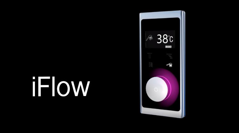 iFlow elektrooniline seinasisene dušisegisti