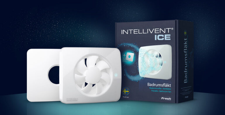 Intellivent® ICE on täiesti uus vannitoa ventilaator