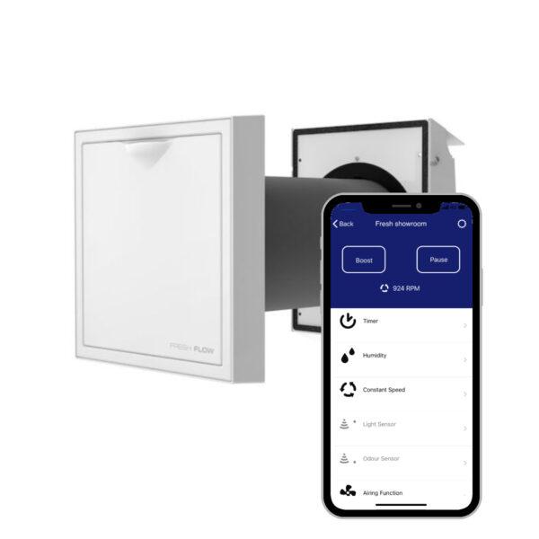Flow_soojustagastusega_ventilatsioon_wireless_app